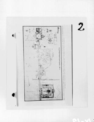 Mapa de Teotihuacán del libro La Población del Valle de Teotihuacán de Manuel Gamio