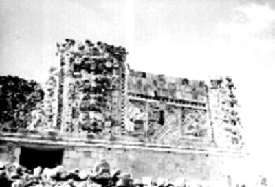 Detalle de esquina del Cuadrángulo de las Monjas
