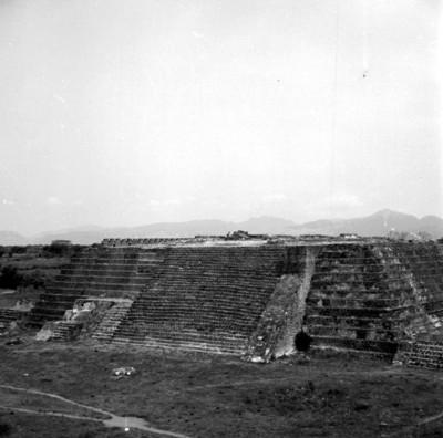 Templo Mayor, vista frontal