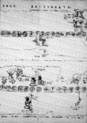 Fragmentos de las láminas 10 y 22 de la Tira de Tepechpan