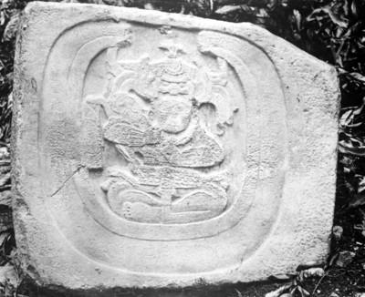 Piedra labrada N° 2 de Bonampak