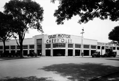 """""""GRAN MOTOR S.A. CHEVROLET"""", fachada"""