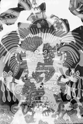 Mural de Tepantitla, detalle, reprografía