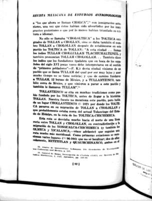 Publicación de la Revista Mexicana de Estudios Antropólogicos, reprografía bibliográfica