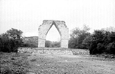 El Arco de Kabah, vista