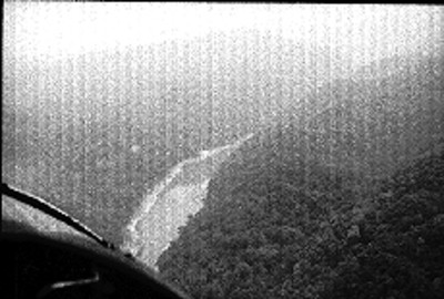 Vista aérea del río Grijalva