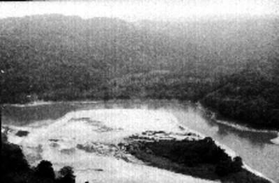 Vista panorámica del río Grijalva