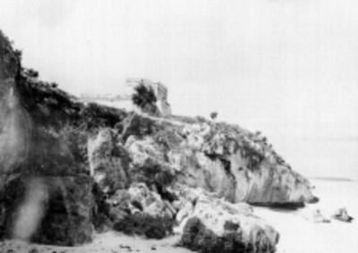 Vista del Castillo desde la Playa