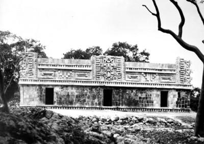 Vista de la Fachada Norte de la estructura 1 de Xlapak, reprografía