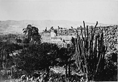 Vista del Templo de las Columnas