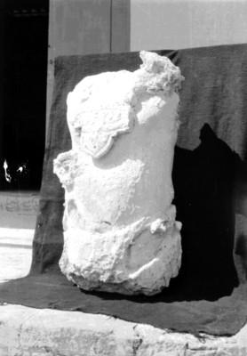 Fragmento de un incensario, vista de perfil