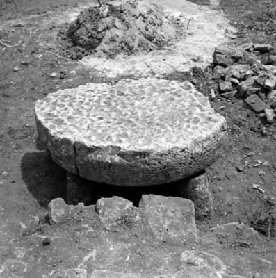 Altar circular, vista frontal