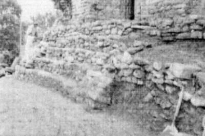 Escalinatas del adoratorio ubicado en el Templo del Conde, Palenque