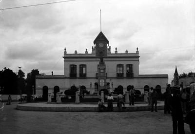 """Palacio Municipal de Tacuba"", fachada"