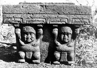 Monumento 2 de San Lorenzo Tenochtitlán, reprografía