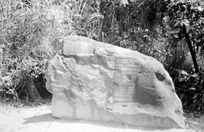 Petroglifo de la Venta