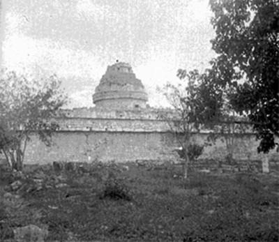 Vista posterior del Observatorio