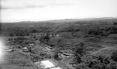 Panorámica del sitio durante exploración