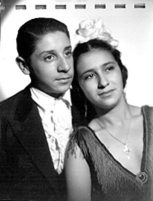 Raúl y María, retrato