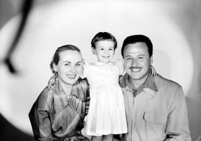 Rina Valdarno y familia