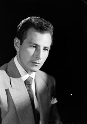El actor Jorge Gallardo, retrato
