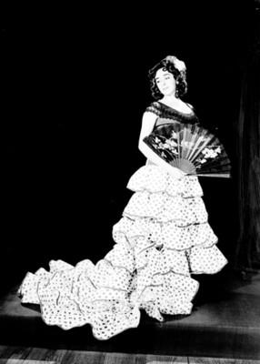 Eleonora, bailarina, retrato