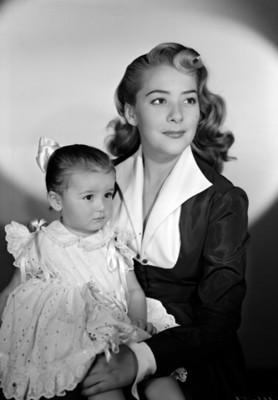 Silvia Pinal con su hija Silvia Pasquel, retrato