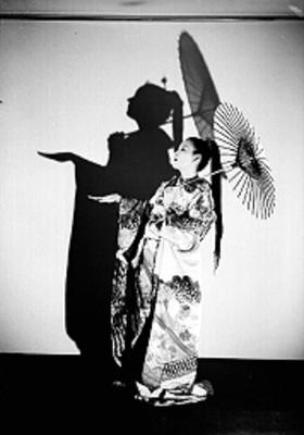 Tei-Ko, con paraguas