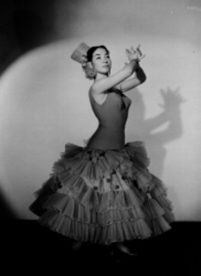 Rosa de Madrid, bailarina de flamenco