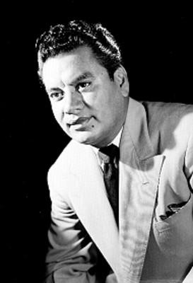 Cuco Sánchez, cantante y compositor, retrato