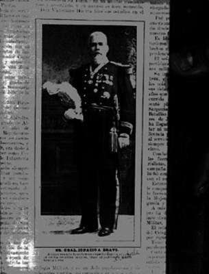 Ignacio Bravo, militar, retrato