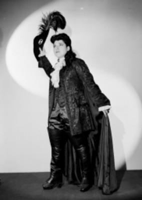 Doris Dorée, cantante de ópera, retrato