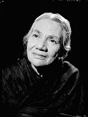 Madre de Stella Inda, retrato