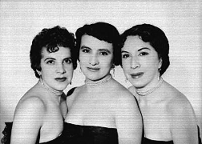 Trío Arcoiris, cantantes