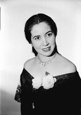 Maria del Carmen Marcos, retrato