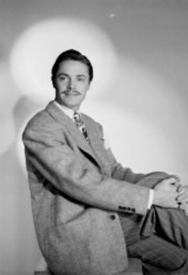 Jorge Villar, actor, retrato