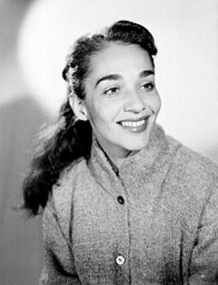 Chavela Vargas, cantante, retrato