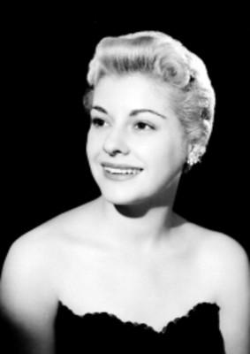 Ma. del Pilar Fernández, actriz, retrato