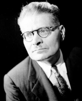 Jose Clemente Orozco, retrato del pintor