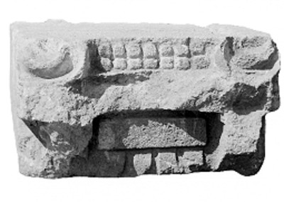 Ornamento arquitectónico teotihuacano