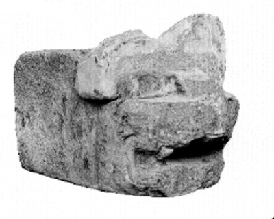 Cabeza de tigre, fragmento