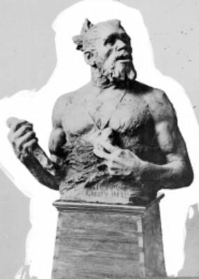 Hombre de Galley-Hill, escultura, reprografía
