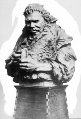 Hombre de Combe Capelle, escultura, reprografía