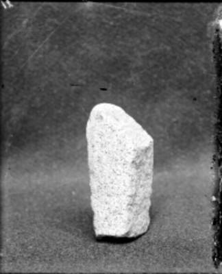Fragmento de pulidor prehispánico