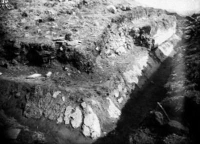 Lado sur, primer montículo de sur a oriente