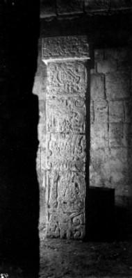 Pilar de la Subestructura del Templo de los Guerreros