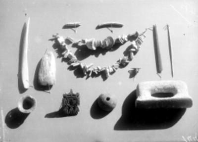 Herramientas y joyería prehispánica