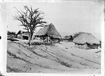 Viviendas indígenas, panorámica