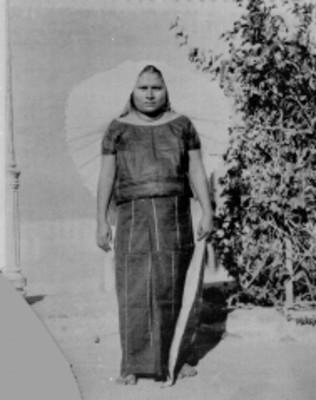 Mujer tehuana, retrato