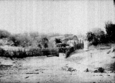 Casas de campesinos, panorámica